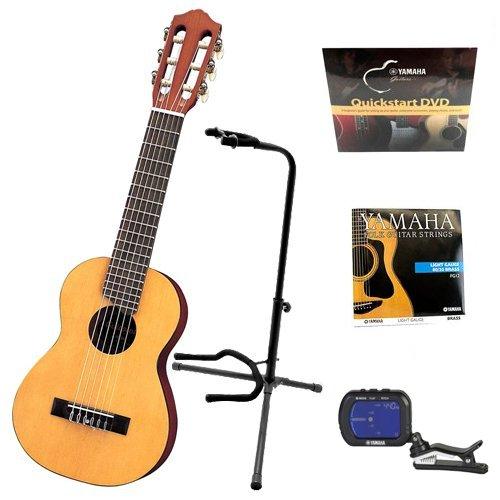 Yamaha Gl1 Guitalele Guitar Ukulele With Yamaha Chromatic Tuner Yamaha Guitar Strings Guitar Stand And Yamaha Quickstart Dv Yamaha Guitar Guitar Stand Guitar