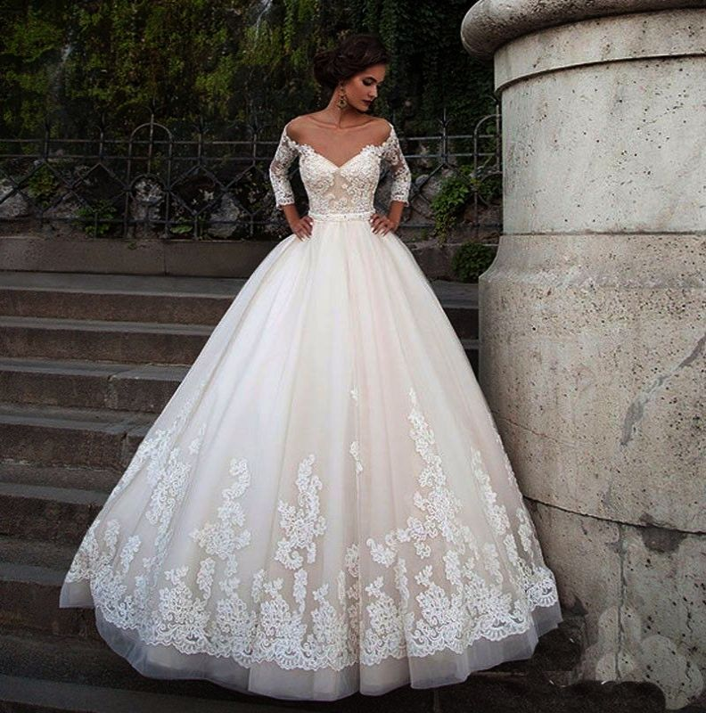 Lace Wedding Dresses Second Hand Beautiful Lace Wedding Dress | Lace ...