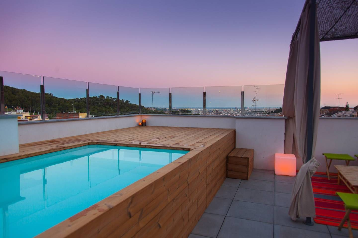 Awesome Private Suites Terrace Pool 17m Center Houses For