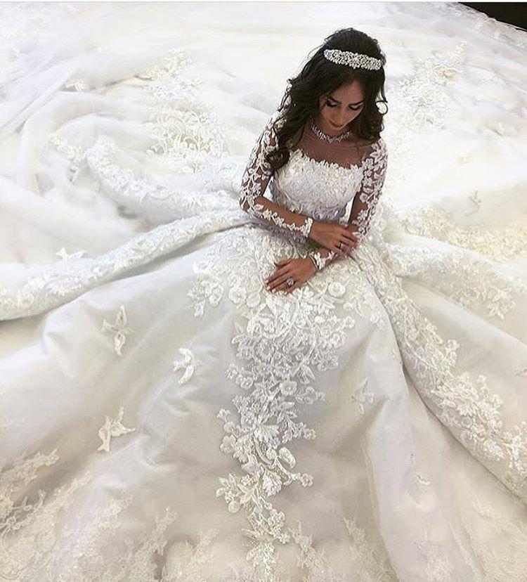 Custom Long Sleeve Wedding Dresses Wedding Dresses Dream