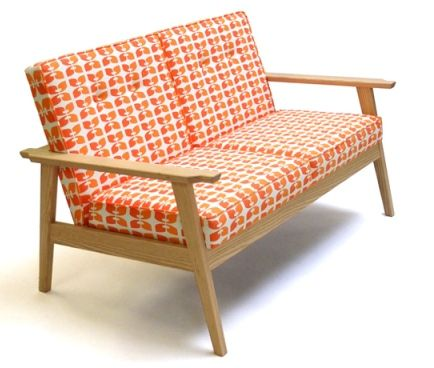 Midcentury Inspired Beacon Sofa By Bark Furniture