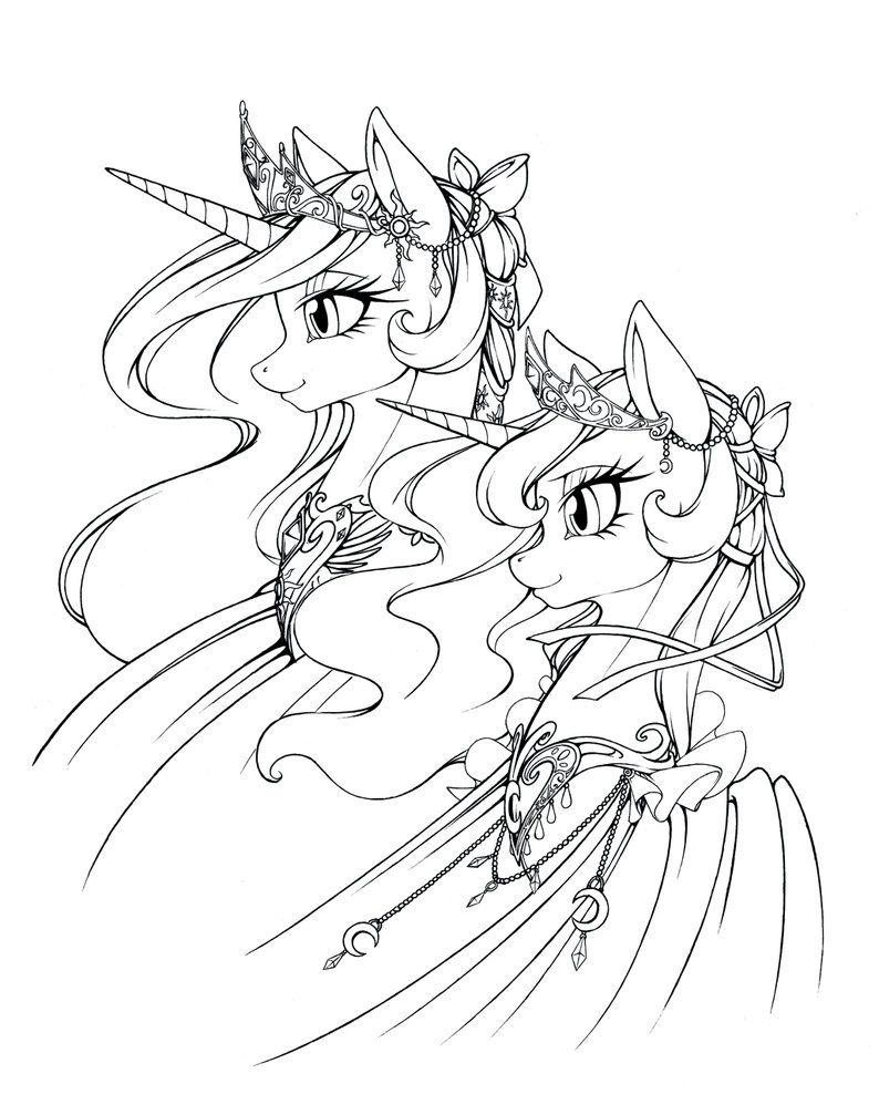Royal Glory By Https Www Deviantart Com Longinius Ii On Deviantart Cartoon Coloring Pages My Little Pony Coloring Coloring Pages
