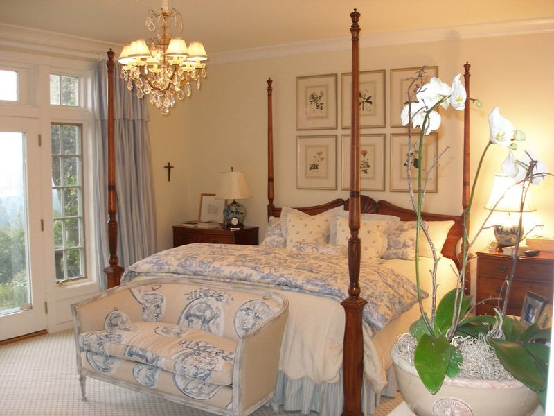 traditional bedroom by Kate Byer Interior Design Home Ideas
