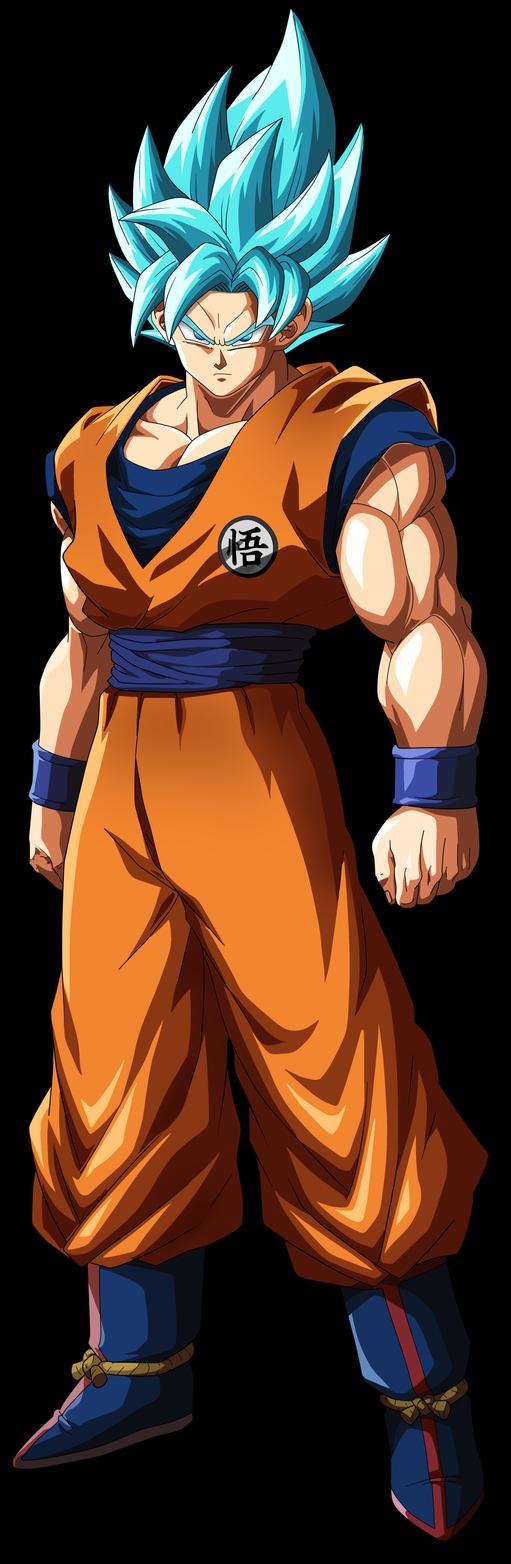 Ssb Goku Dragon Ball Fighterz By Skapnslap Goku Dragon Ball Son Goku
