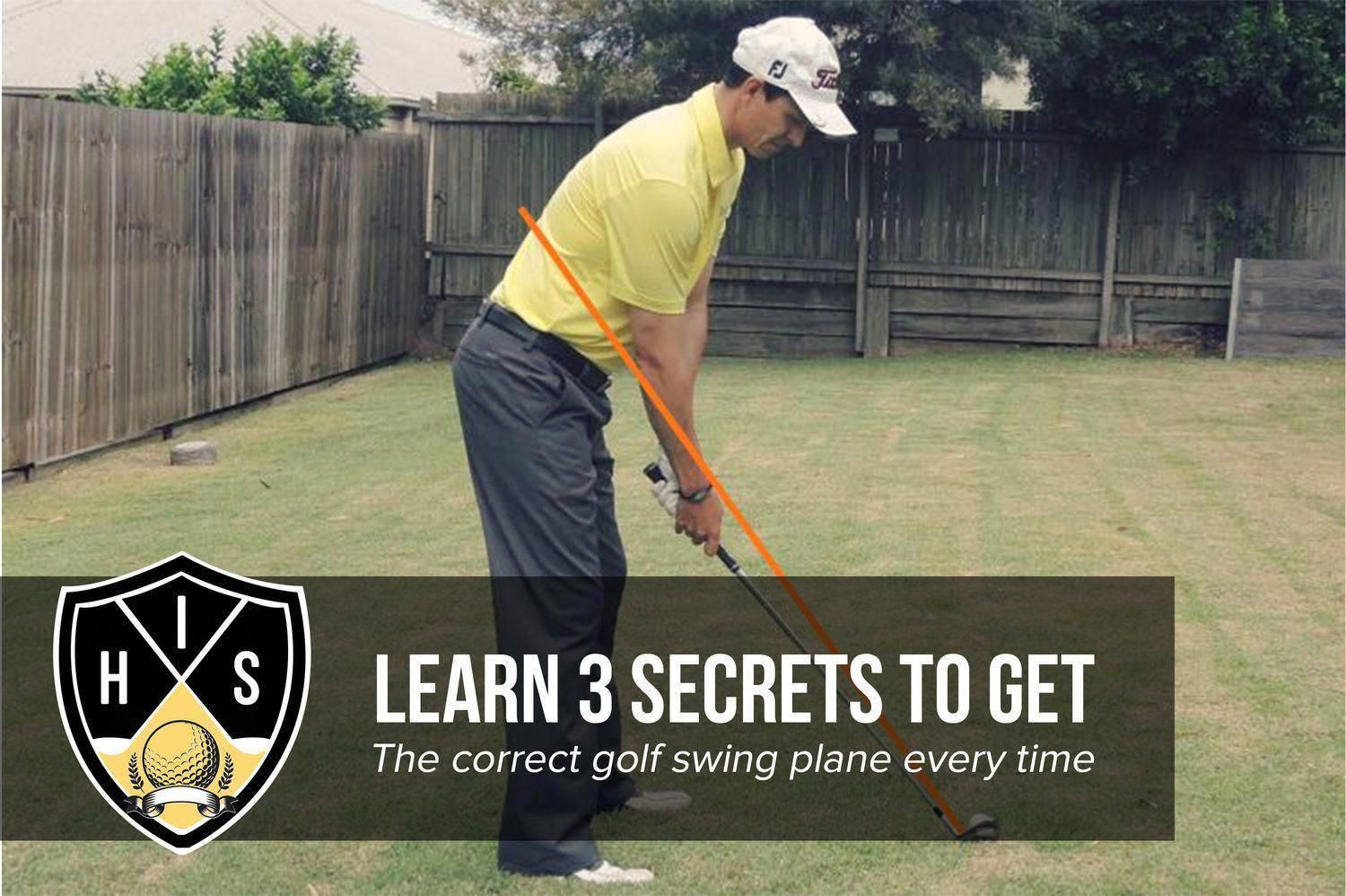 Correct Golf Swing Plane golftips TheRightGolfEquipment