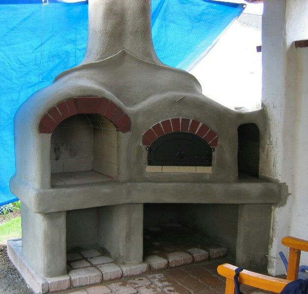 pizzaofen grill kombination – godsriddle, Gartengestaltung