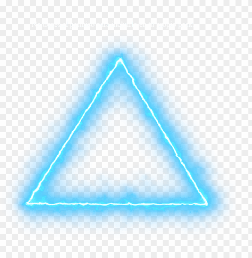 Blue Triangle Neon Lights Png Neon Effect Light Png Neon Triangle Png For Picsart Png Image With Transparent Background Png Free Png Images Neon Png Logo Design Art Neon