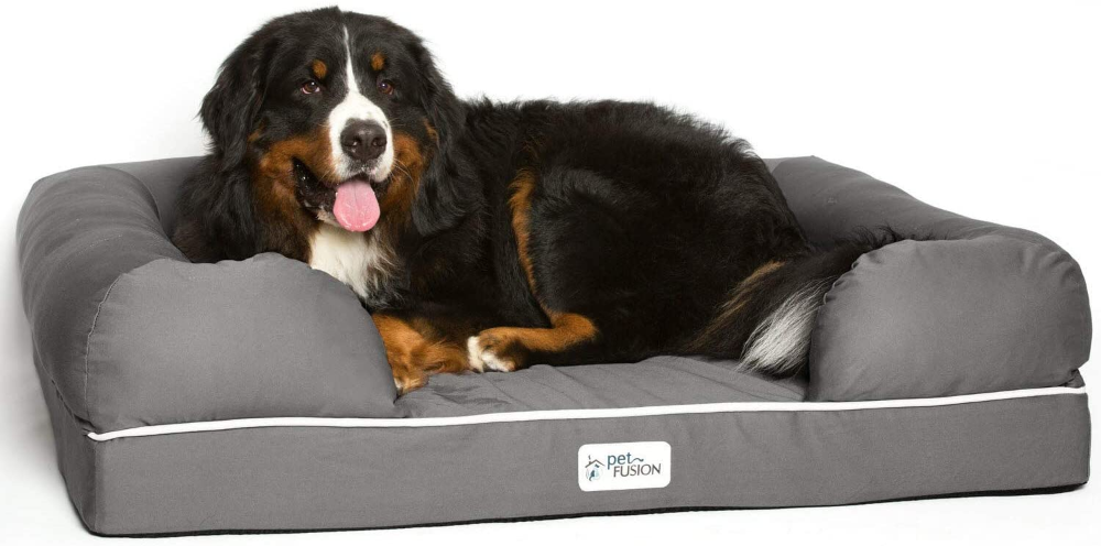 Amazon Com Petfusion Ultimate Dog Bed Orthopedic Memory Foam Multiple Sizes Colors Medium Firmness P Extra Large Dog Bed Cool Dog Beds Memory Foam Dog Bed