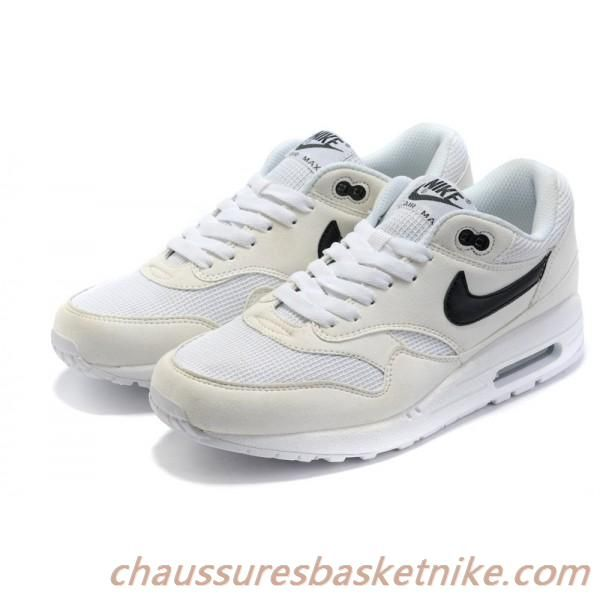 outlet for sale lowest discount 50% price Vendre Nike Air Max 87 Blanc Noir Chaussures Couple in 2019 ...