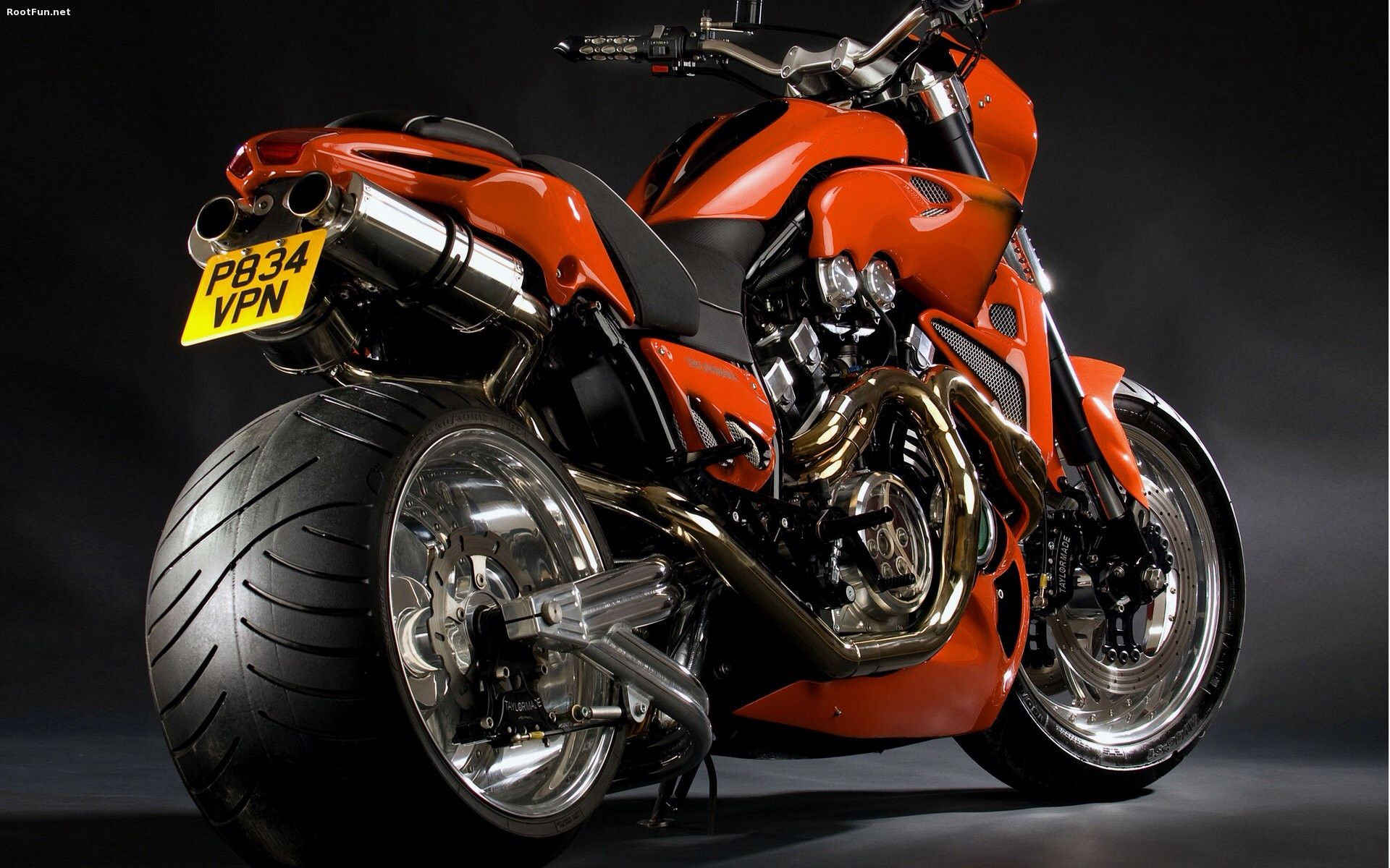 Surely This Beast Cannot Count As A Super Sportbike But There It