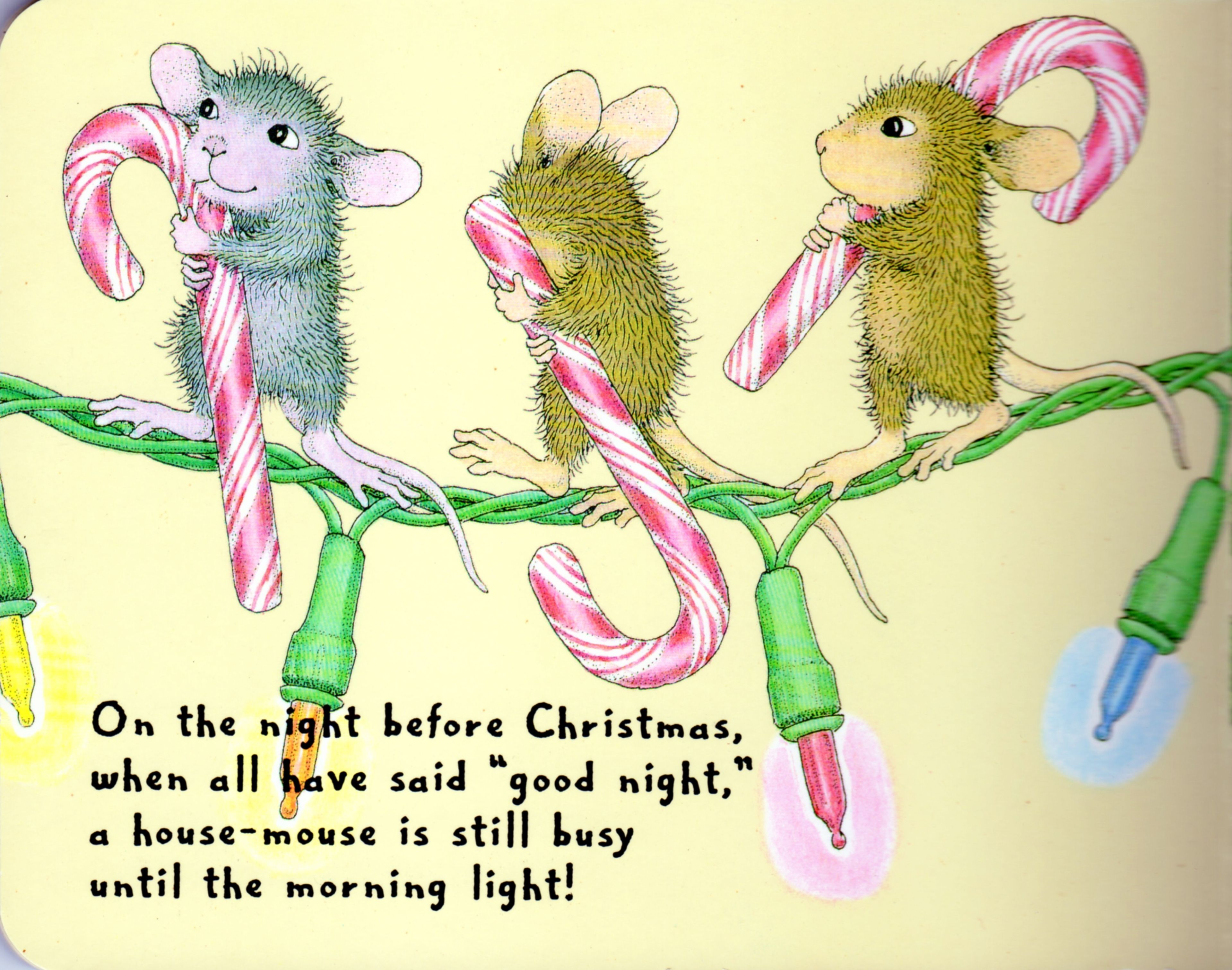 House Mouse Christmas Page 4