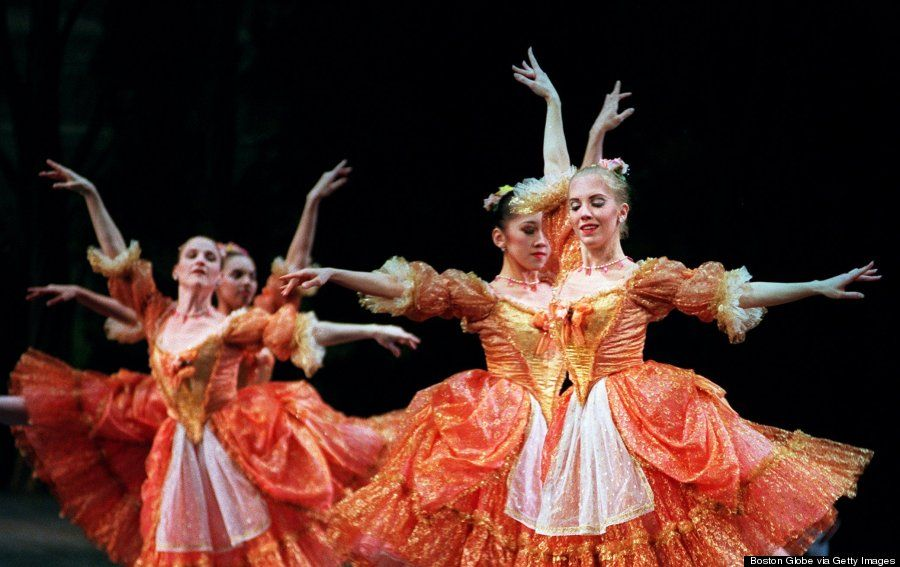 """Boston Ballet brings its 33rd annual production of """"The Nutcracker"""" to the Wang Center in Boston, Massachusetts. 1998"""