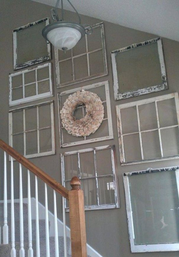 Old window decor