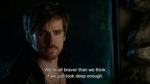 Once Upon A Time Hook Quotes Brave Television Quotes In 2019