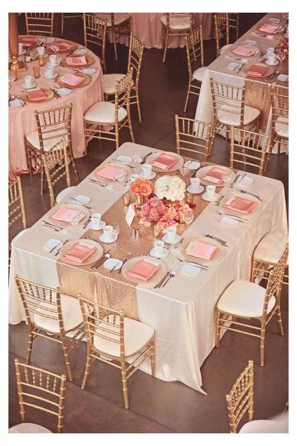 square table setting ideas