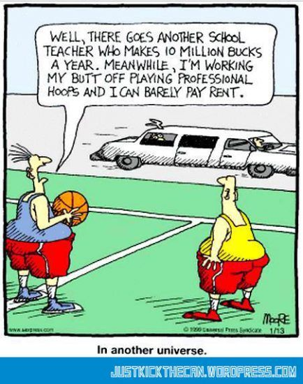 Funny Basketball Cartoons Pic Funny Picture