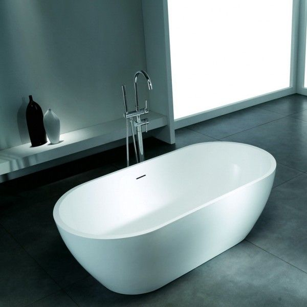 Acrylic Solid Surface Bathtub 63 inches long | Bathroom | Pinterest ...