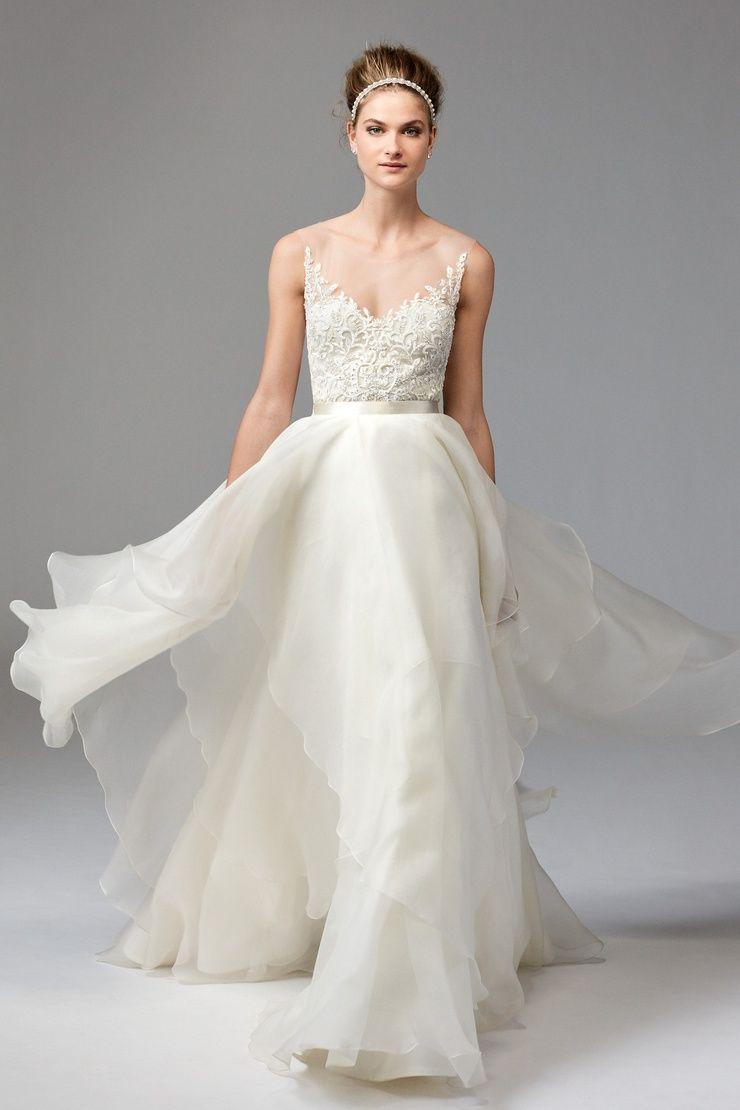 Dianthus Top 1041B | Brides | Watters | The Dress | Pinterest