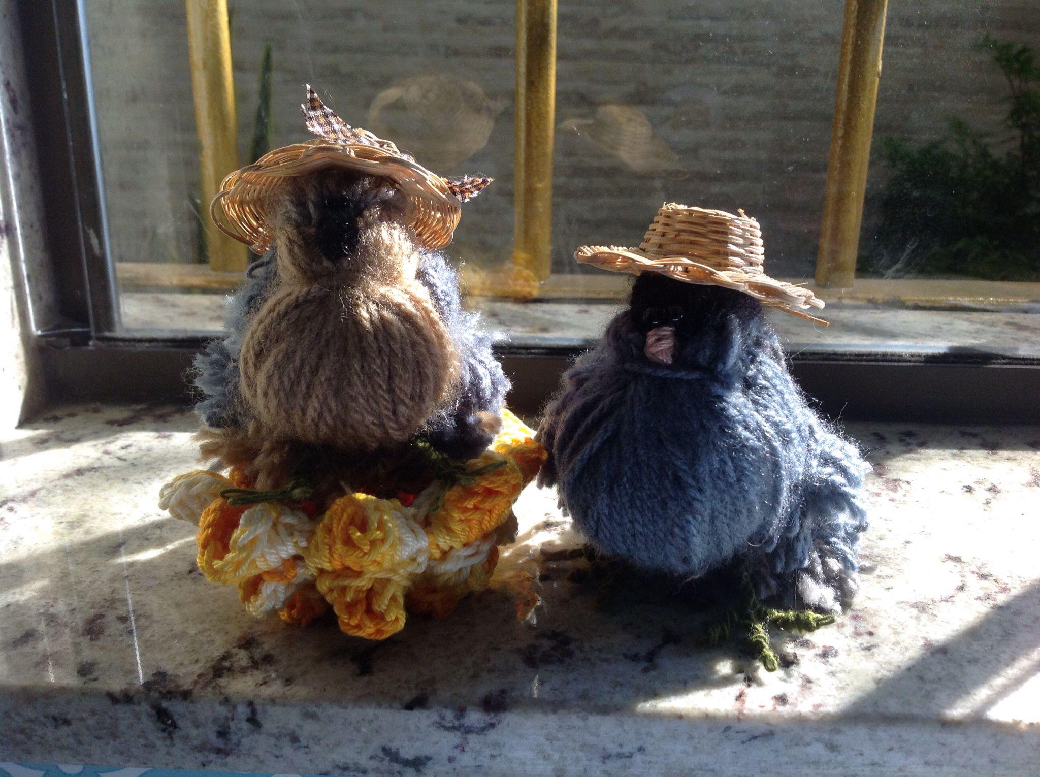 Passarinhos de lã!