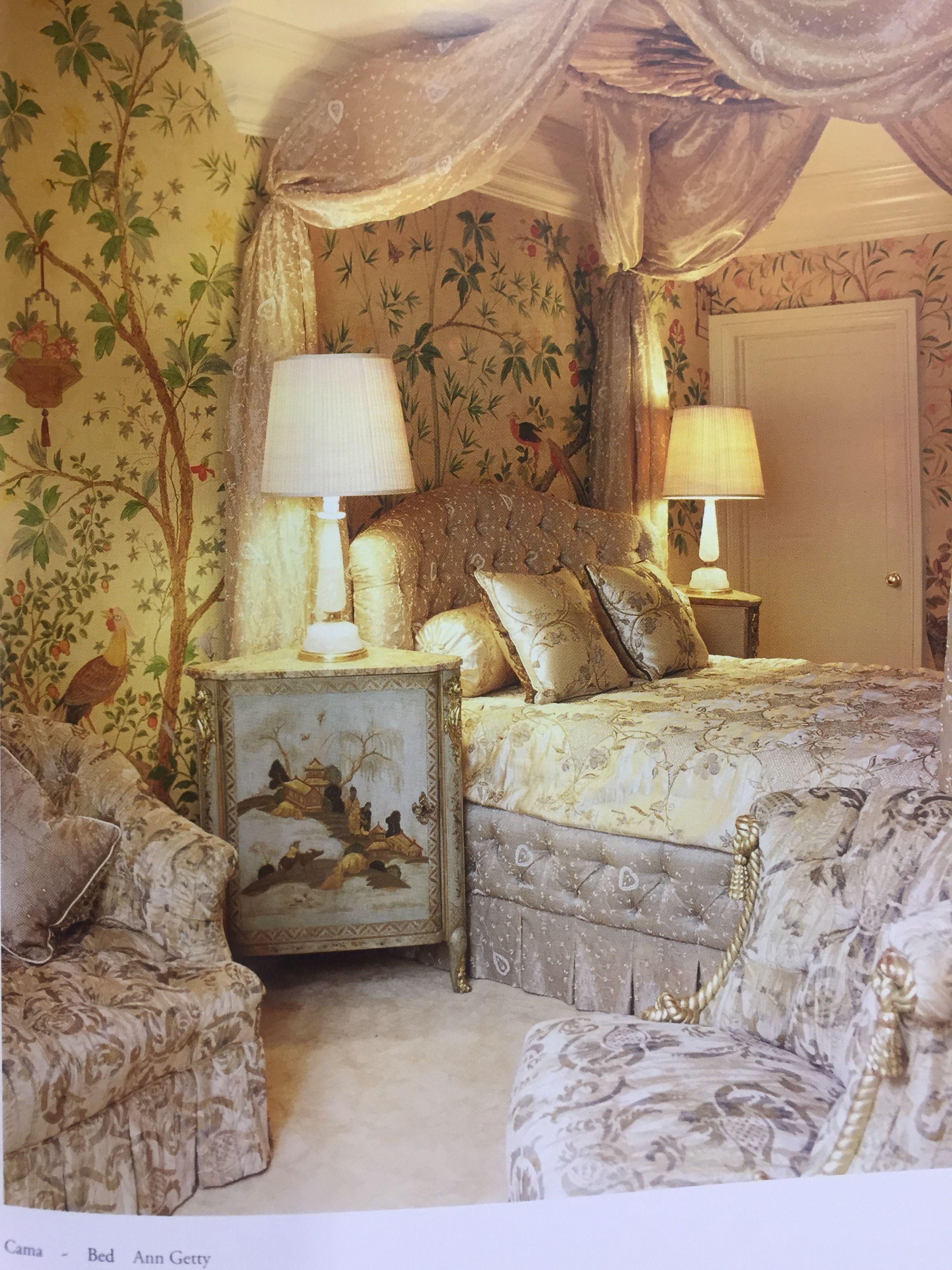 Idyllic feminine bedroom, a dream. | Feminine bedroom ...