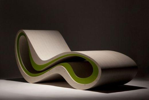 Designer Stuhl Sessel Liege High Roller 1