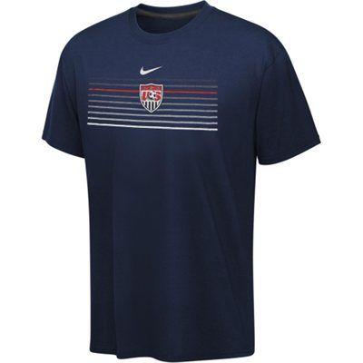 0ea9341fef1 Nike US Soccer Dri-FIT Legend T-Shirt - Navy Blue