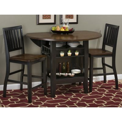 breakwater bay francestown counter height extendable dining table