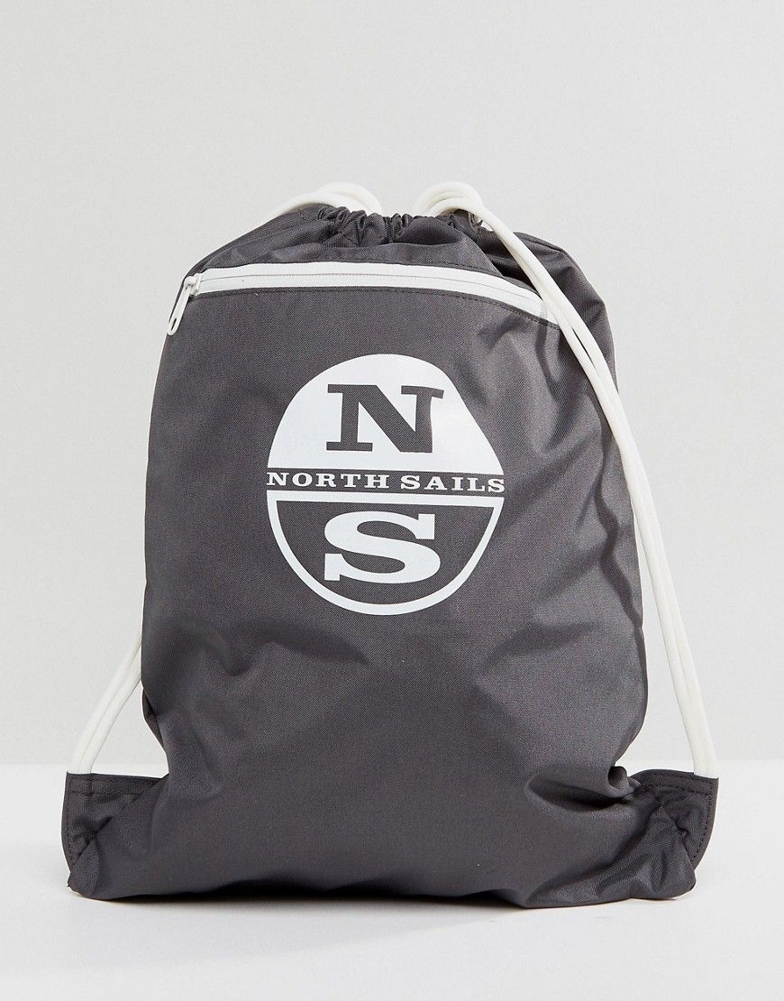 NORTH SAILS GYM BACKPACK IN GRAY - GRAY.  northsails  bags  backpacks   3375a53f880ba