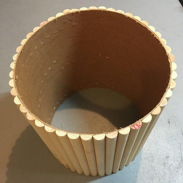 In 6 Schritten zum Couchtisch aus Halbrundstäben von makajumy