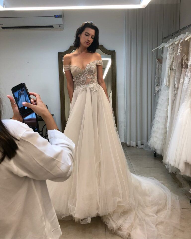 30 Top A Line Off The Shoulder Mermaid Lace Wedding Dresses For Bride A Line Bridal Gowns Wedding Dresses London Wedding Dress Reveal
