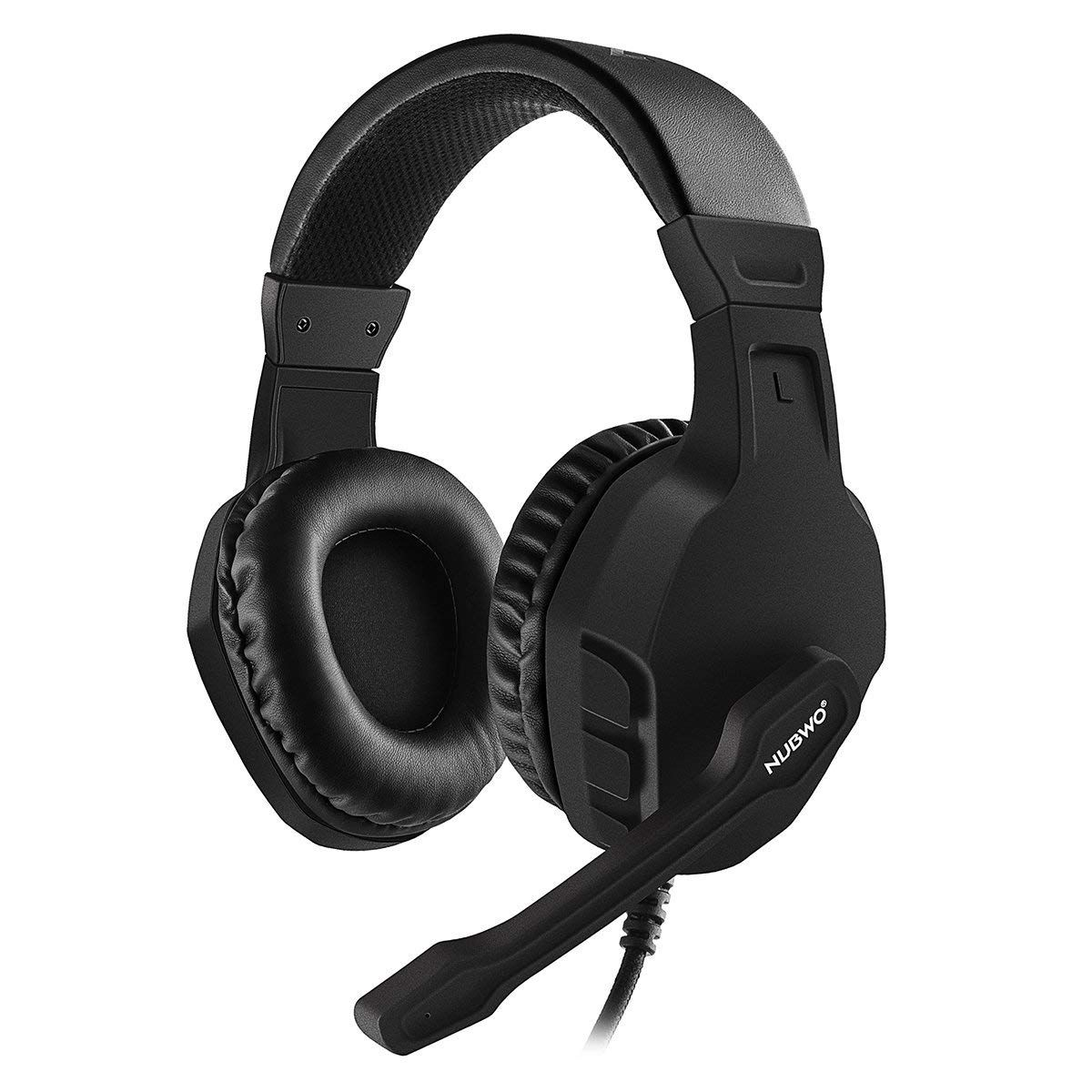 Modohe NUBWO Gaming Headset Mic for Xbox one PS4 Controller, Skype ...