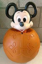 Vintage Sun Products Hoppity Mickey Mouse Bouncy Ball Toy Walt Disney 1970's