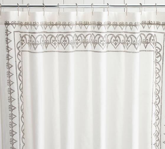 Yara Shower Curtain Pottery Barn Baby Bathroomoffice