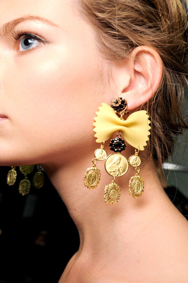 pasta earrings D