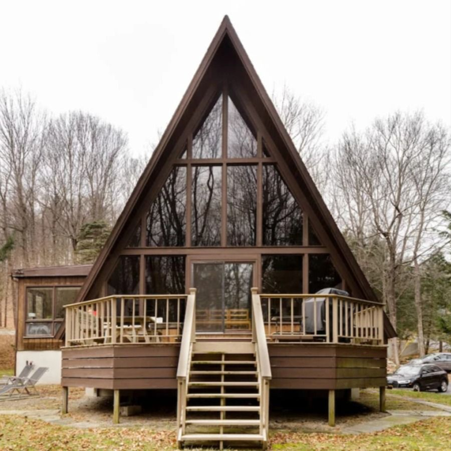 The 12 Best Hudson Valley Cabins To Rent This Fall In 2020 House Decor Modern Cabin A Frame Cabin