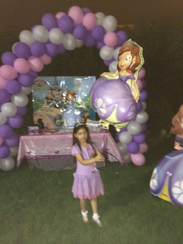 Sofia the First Birthday Party Ideas | Photo 1 of 12 | Catch My Party