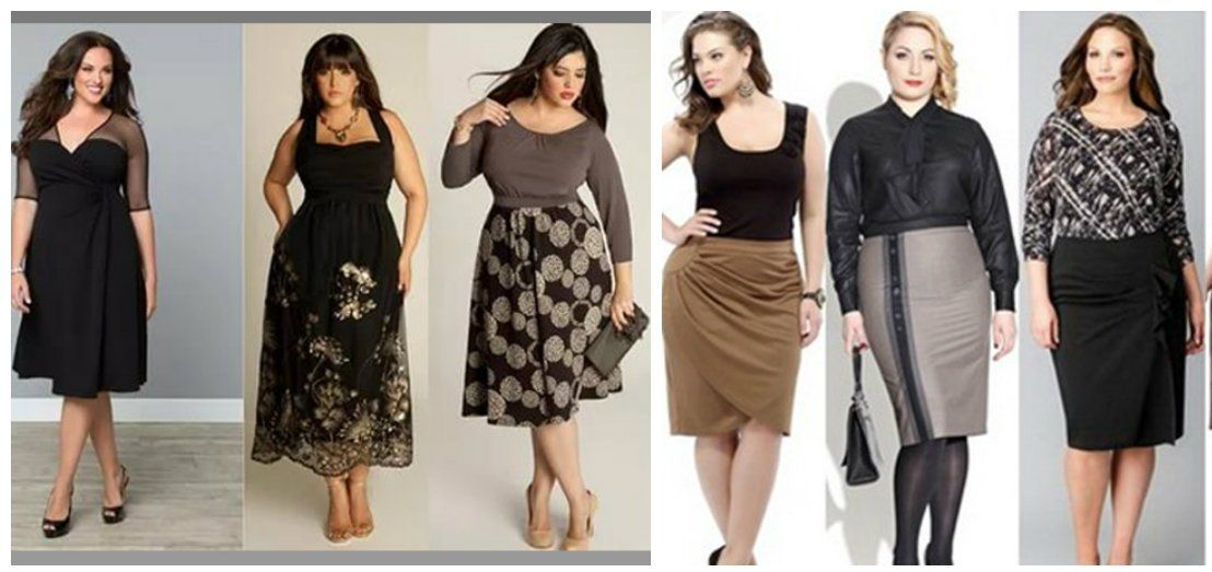 5c51539dfbd Plus size fashion 2018  trends and tendencies of trendy plus size clothing  - Trends Fashion