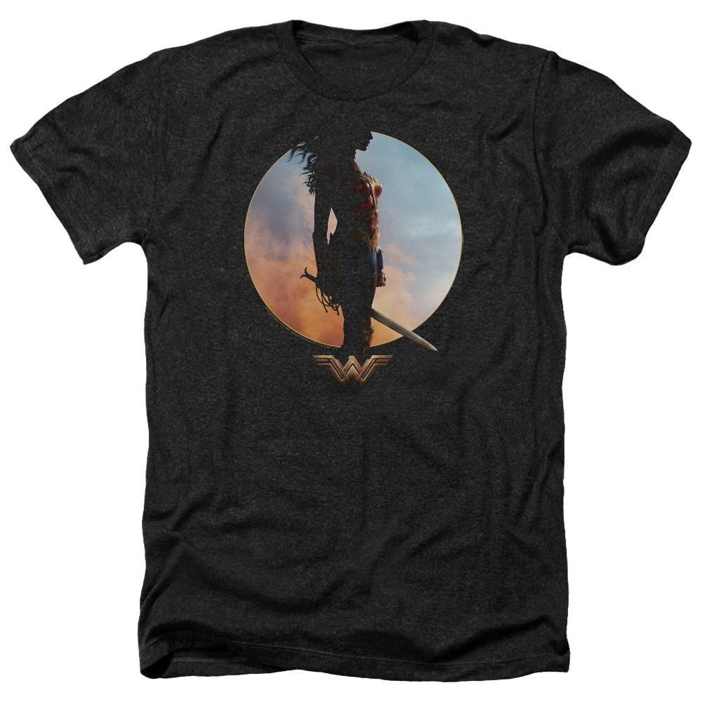 Wonder Woman Movie Wisdom And Wonder Heather Soft Fit T-Shirt
