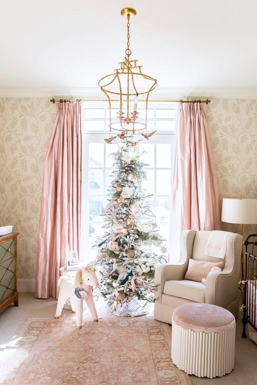 9 Dreamy Pink Christmas Tree Decor Ideas -   17 christmas tree decor 2020 pink ideas