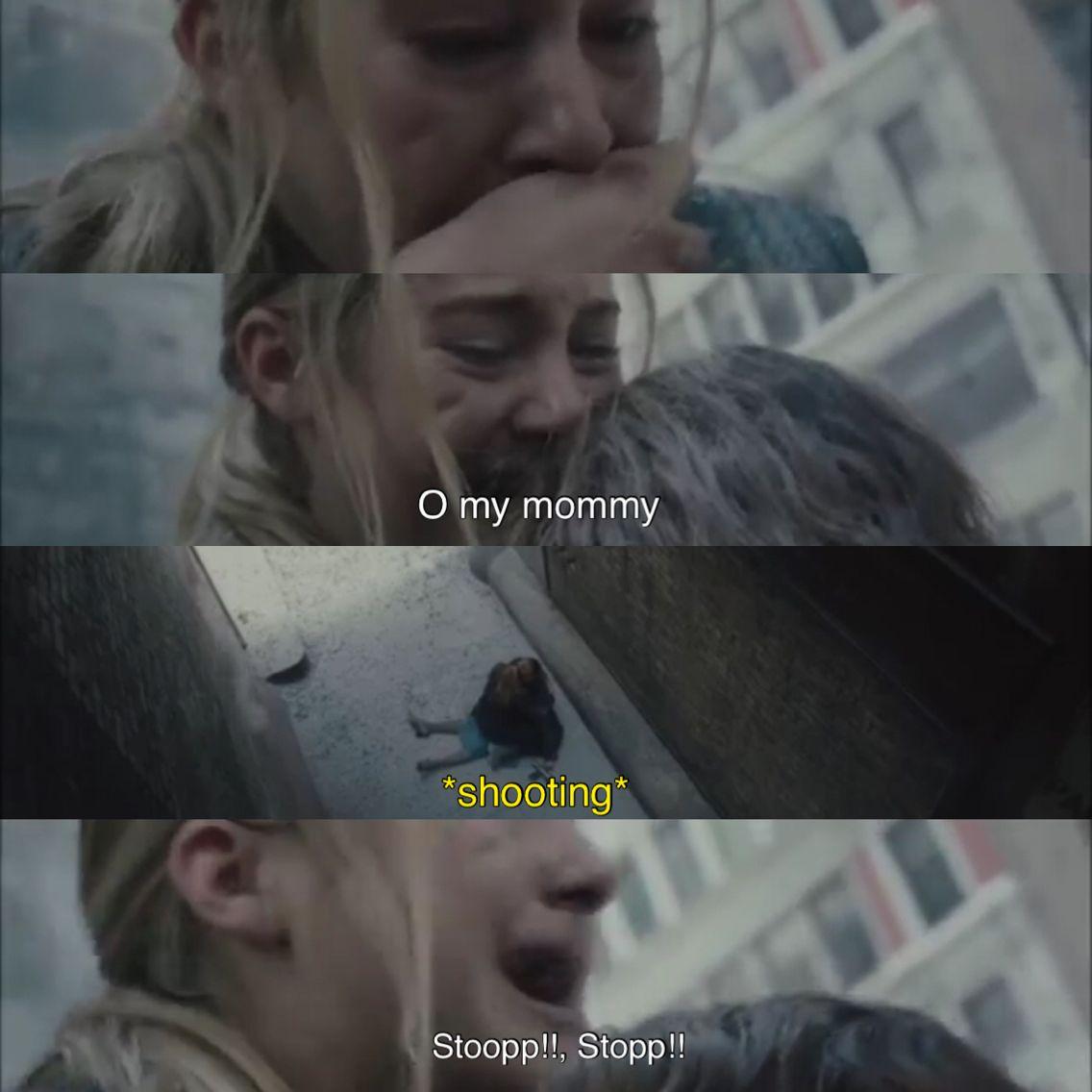 Divergent. Tris mom died