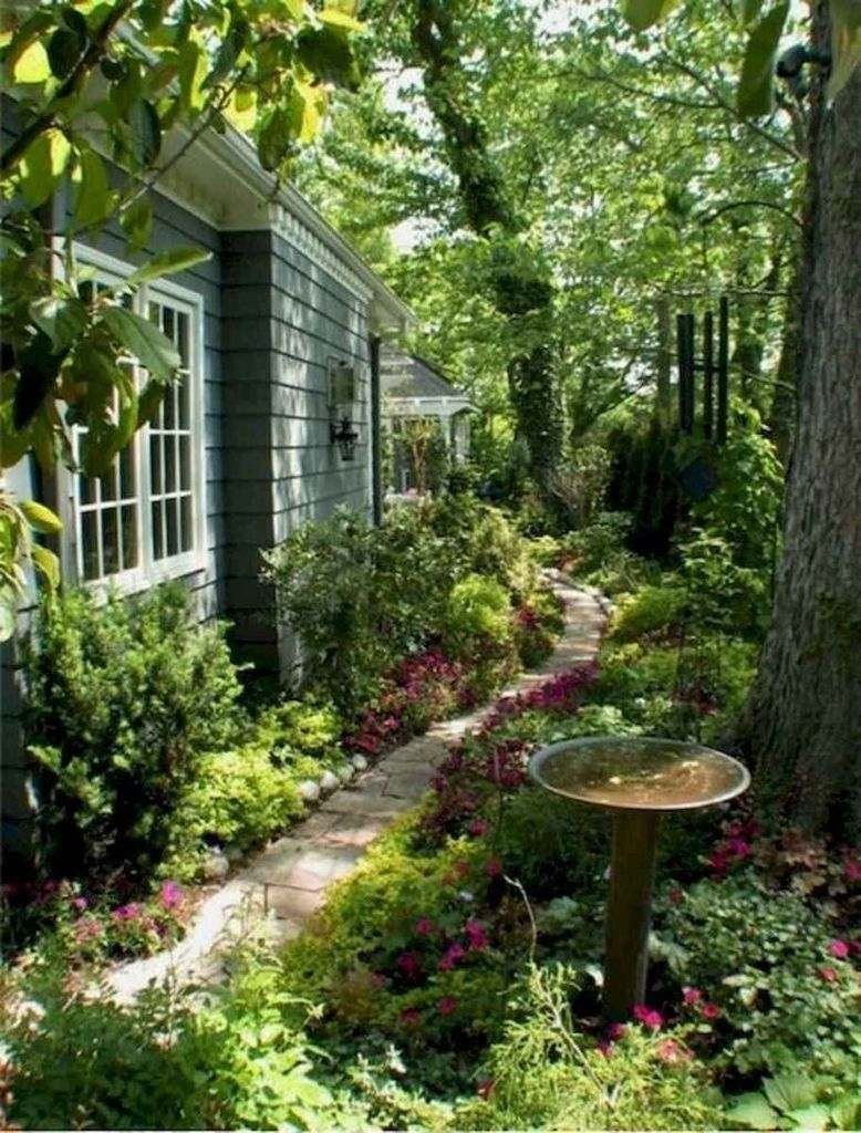 63 Mesmerizing Side Yard Landscaping Design Ideas to Perfect Your Garden Design #sideyards