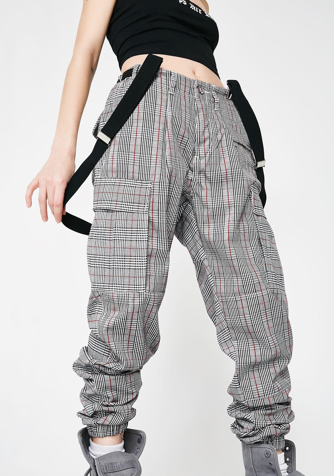 dd30f05f9fb Poster Grl Do Homewerk Suspender Cargo Pants