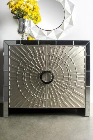 MF1022-La Croisette Mirrored Cabinet – Statements by J