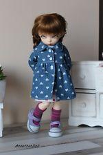 **AnnettetDoll** Denim, jeans Coat for YOSD, 1/6, Littlefee-b18