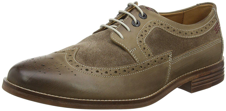 Hush Puppies Men S Granger Parkview Brogues Amazon Co Uk Shoes Bags Dress Shoes Men Shoes Brogues