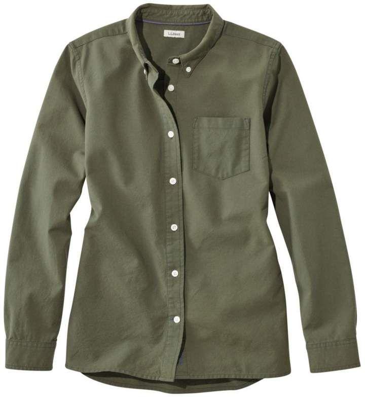acf0caeb33fc3 L.L. Bean L.L.Bean Lakewashed Organic Cotton Oxford Shirt
