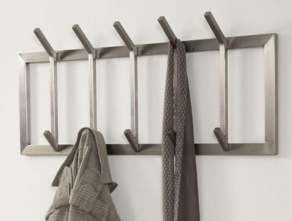 Wandgarderobe Moderne Garderobe Mit 10 Haken Edelstahl Hohe 36