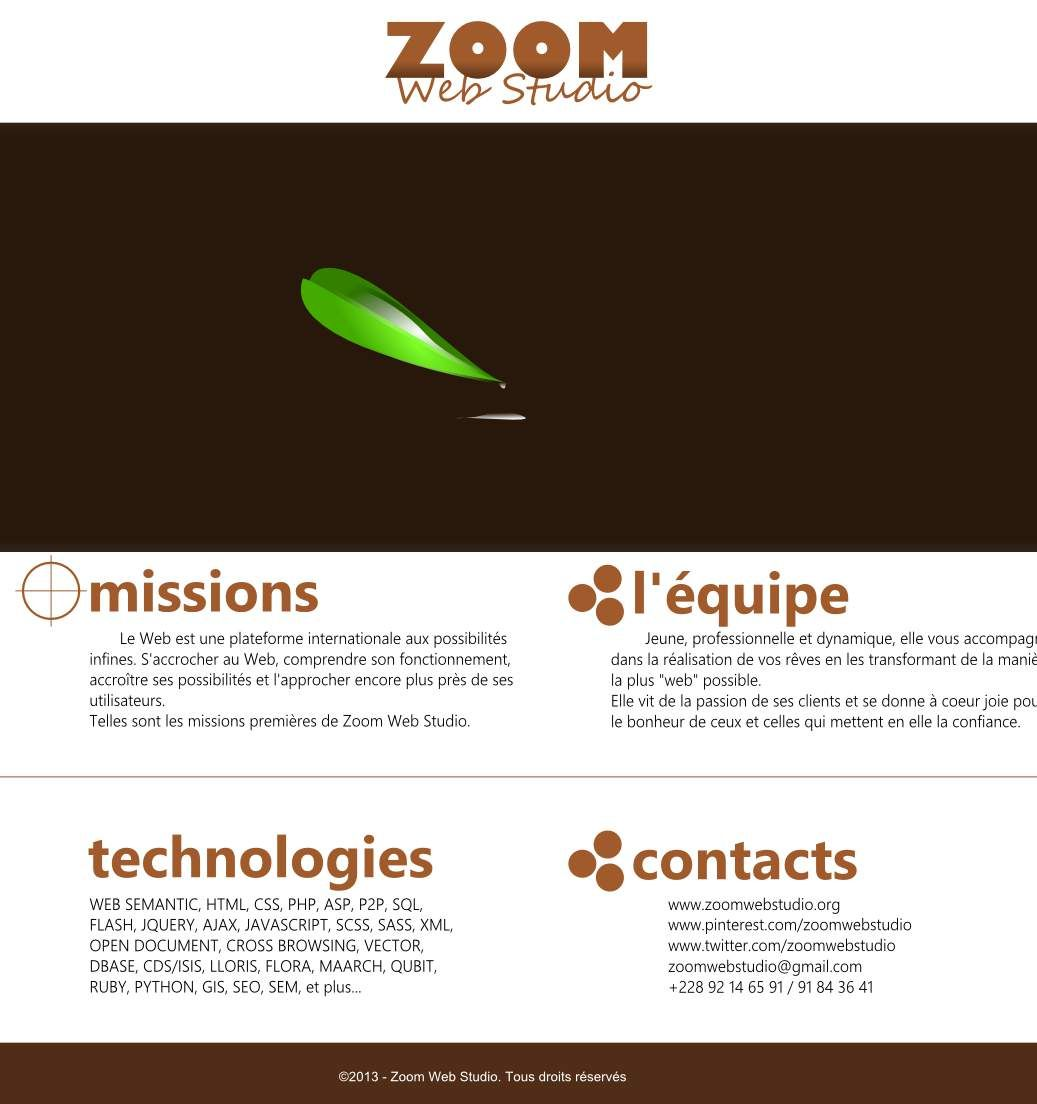 ZWS website template design.. Contact me if you are lookign for ...