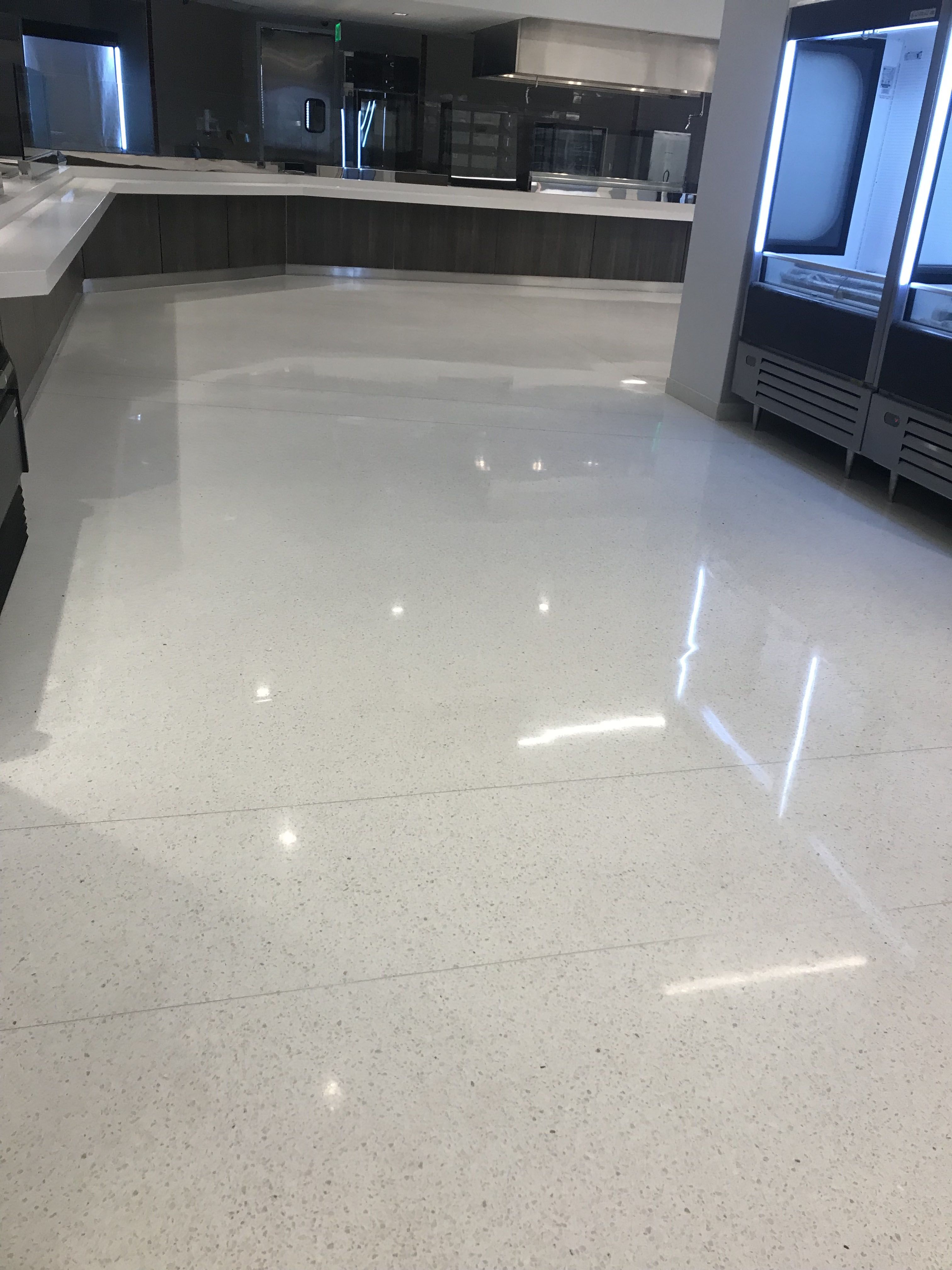 Groutless Ezpour Epoxy 158 Terrazzo Terrazzo Flooring Epoxy