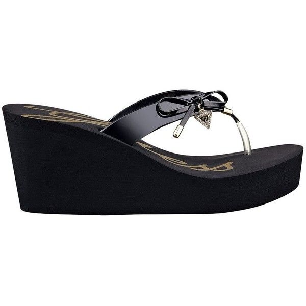 26cd4252e GUESS Syona Platform Flip-Flop Sandals (1